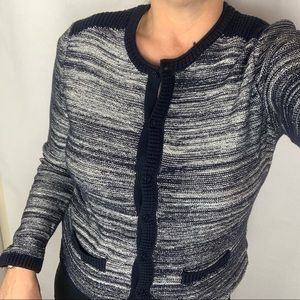 Tommy Hilfiger Knit Sweater Cardigan Navy Large